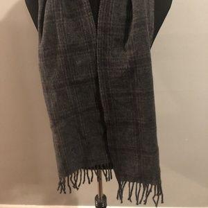 Ralph Lauren POLO Men's Designer Scarf Grey